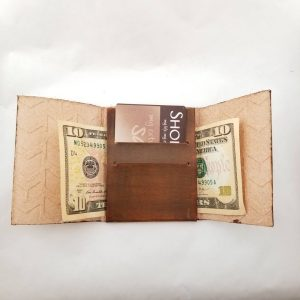 Minimalist Wallet - Chevron
