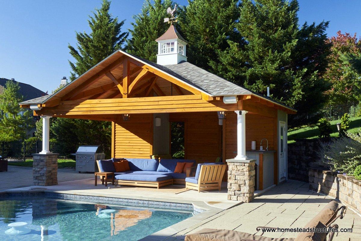 Custom Pool House Plans & Ideas
