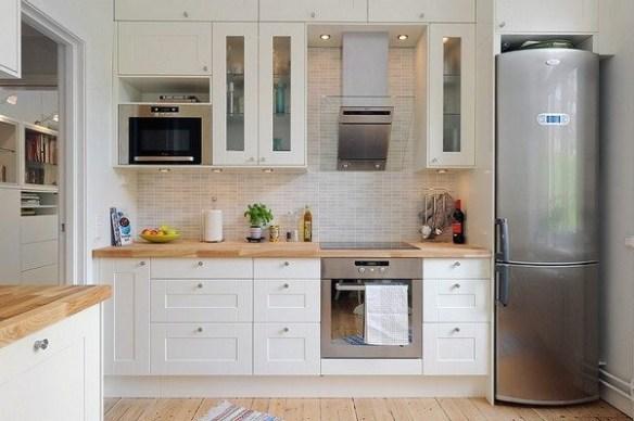 кухне в скандинавском стиле
