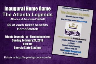 Atlanta Legends benefit HomeStretch