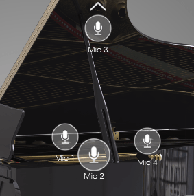 Arturia Piano V review mic visualization image