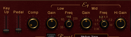 Waves Grand Rhapsody Piano Review noises comp and EQ image