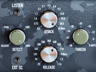 Black Rooster Audio KH COMP1 Review attack release detect threshold
