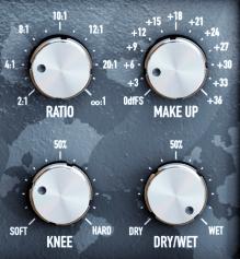 Black Rooster Audio KH COMP1 Review ratio gain knee drywet