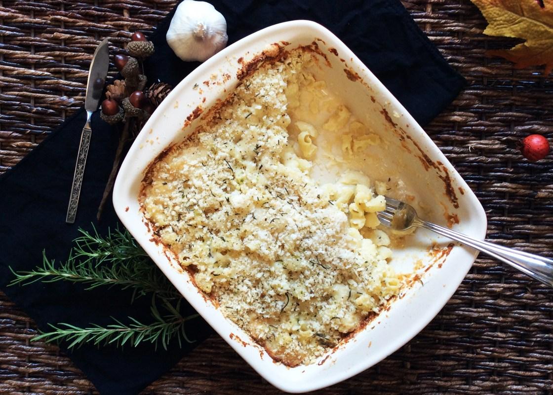 Rosemary Gruyere Mac and Cheese