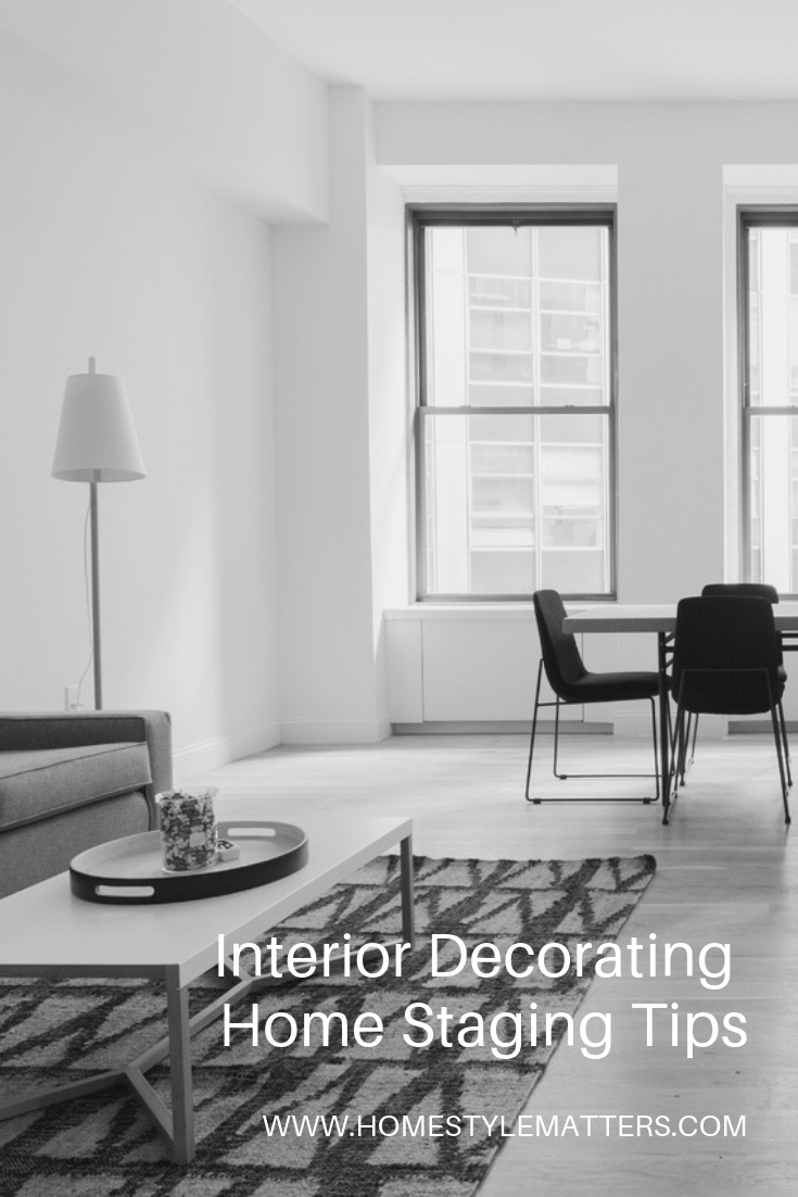 Interior Decorating Home Staging Tips 1