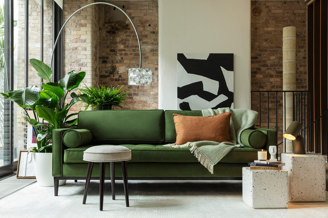 Flat pack sofa