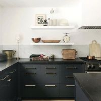 40+ What You Must Know About Design Beautiful Black Kitchens