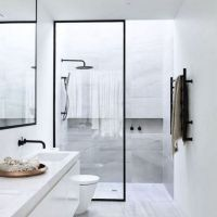 +37 How to Choose Modern Monochrome Bathroom Ideas Black & White Bathroom Inspiration