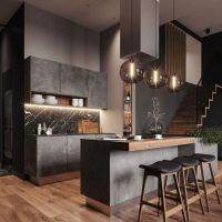 +37 The Supreme Approach To Creative Kitchen Black Cabinet Ideas Trend In 2019 43