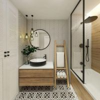 +37 What The In Crowd Won't Tell You About Scandinavian Bathroom About The Tiles 9