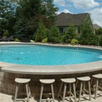 +41 Stunning Ground Pool Design Ideas For Your Backyard Reviews & Guide 20