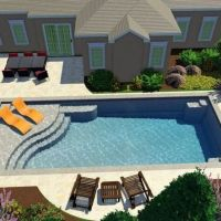 +41 Stunning Ground Pool Design Ideas For Your Backyard