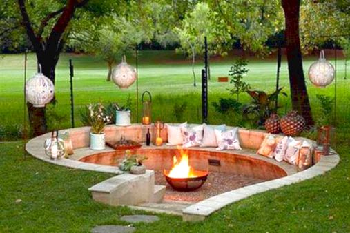 43+ Best DIY Outdoor Fire Pit For Your Backyard