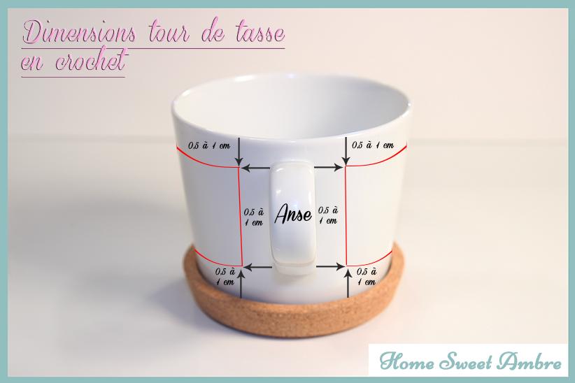 dimensions tour de tasse en crochet homesweetambre