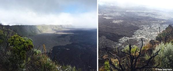 Le piton de la fournaise île de La Réunion