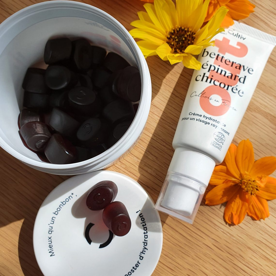 Test routine hydrate in & out de Cultiv cosmétique