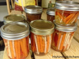 canned carrot pickles