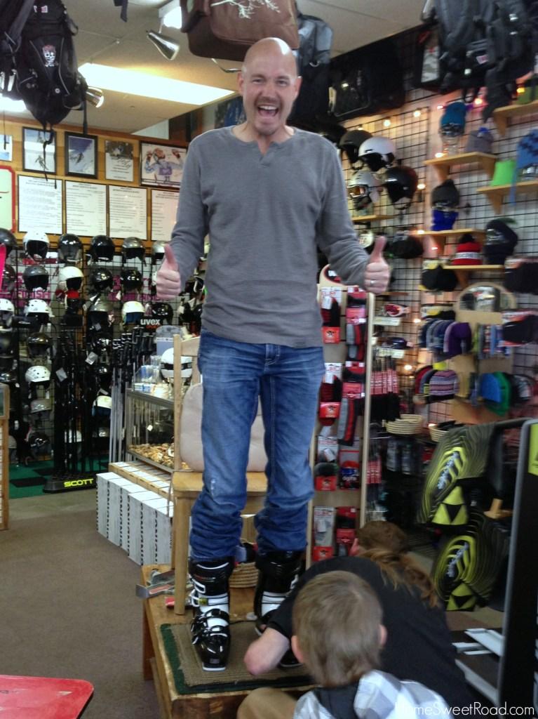 ski boots breckenridge