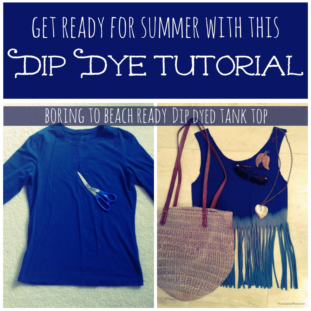 upcycle dip dye