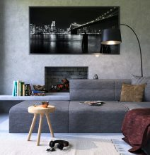 Tv-Mounted-Over-Fireplace-in-Dallas