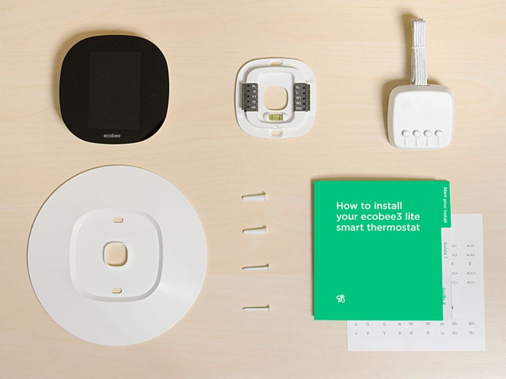 What's inside the Ecobee3 lite box