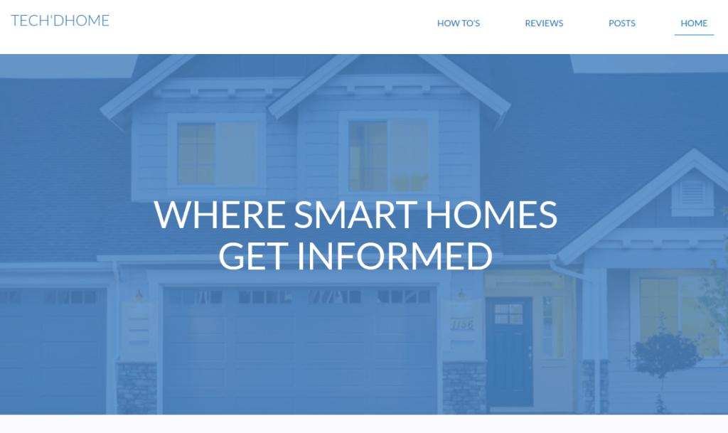 Tech'dHome Smarthome blog
