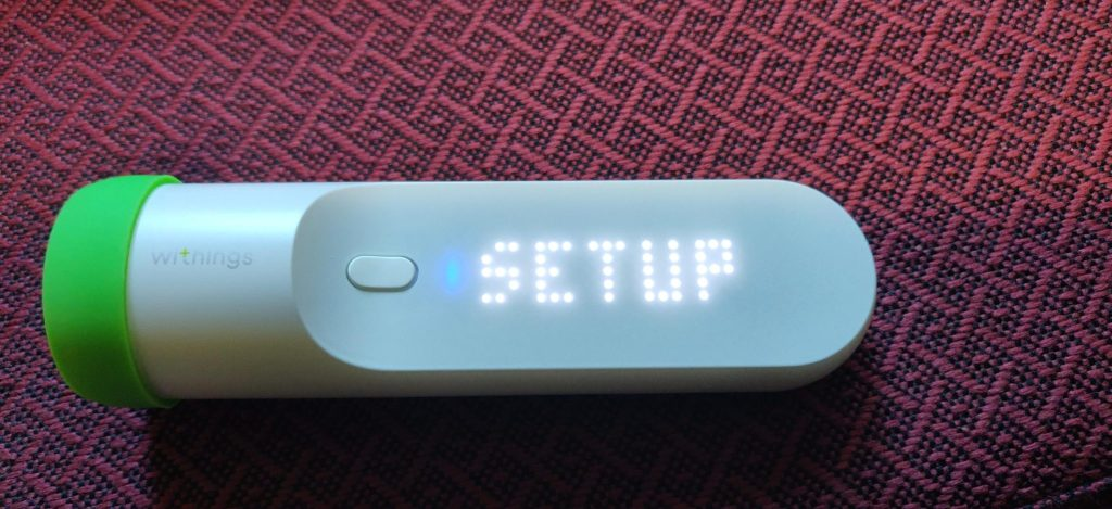 Withings Thermo Setup