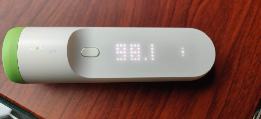 Withings Thermo Temperature Display