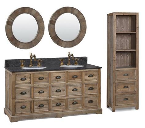 apothecary style bathroom vanities