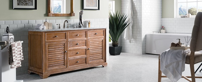 unfinished solid wood bathroom vanities