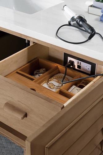 bathroom vanity drawer outlets
