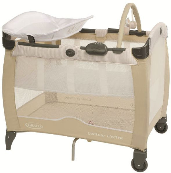 Graco Contour Electra Travel Cot - Benny and Bell Review