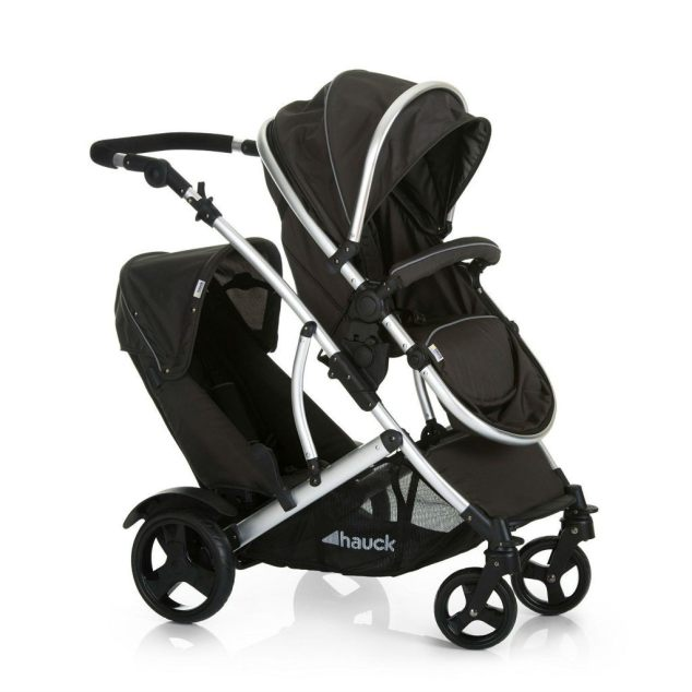 Best Twin Stroller - Hauck Duett Two Tandem Twin Pushchair Review