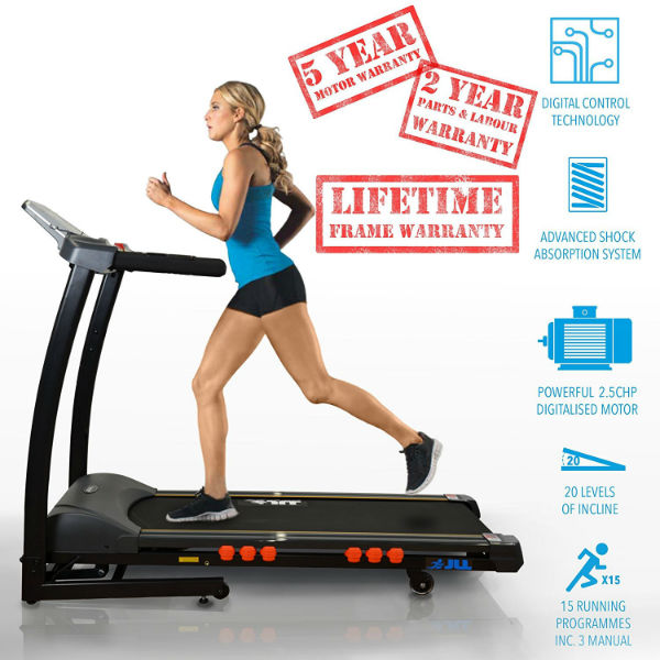 JLL S300 Digital Folding Treadmill Review