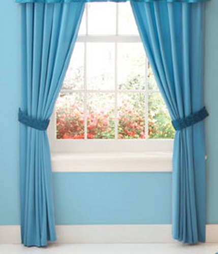 stylish blue curtains for your home