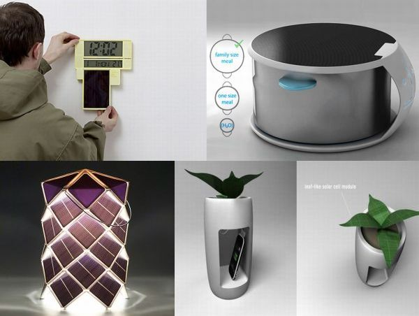 Solar-powered gadgets