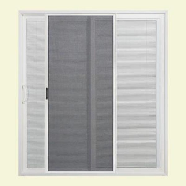 patio doors with blinds inside reviews. this blind design is fairly energy efficient and it let the beauty of nature come inside. dimension jeld-wen sliding patio door 80 x 72 5 doors with blinds inside reviews