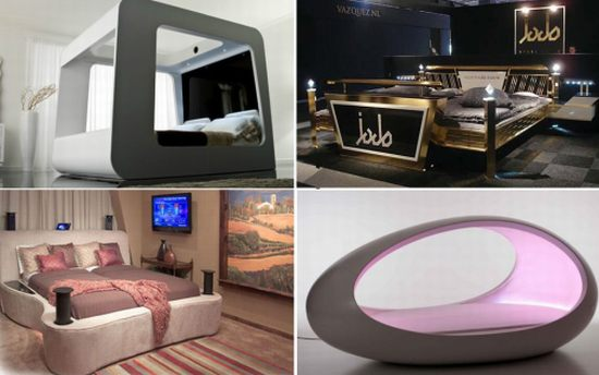 Most Amazing High Tech Luxury Beds Hometone Org