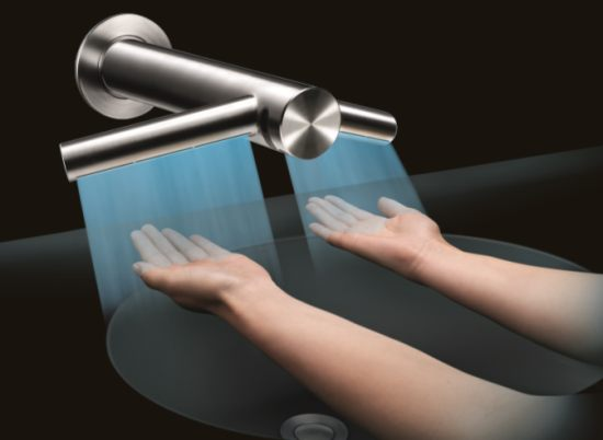 Dyson\'s £1,000 Airblade Tap hand dryer washes and dries your hands ...
