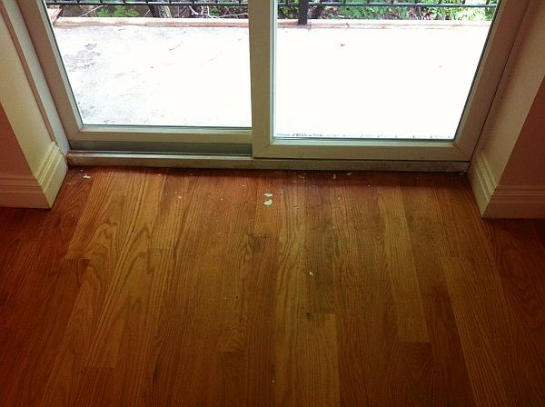 cleaning hardwood floors after water damage