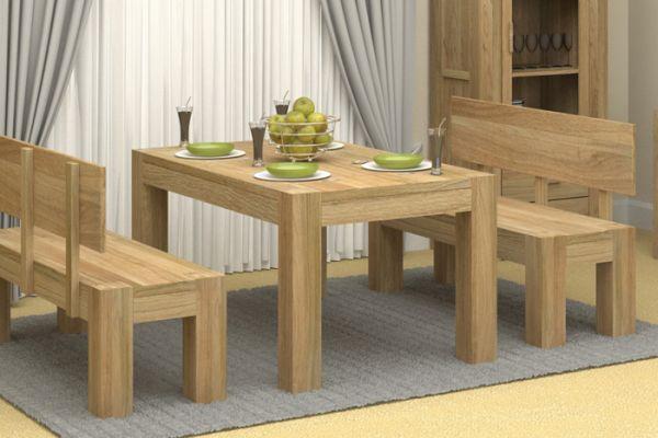 Oak wood furniture 1