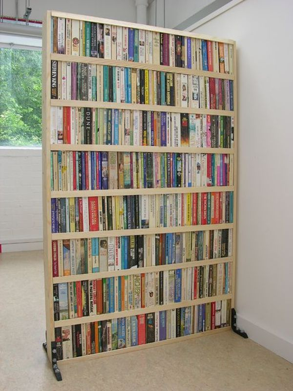 Book room partition