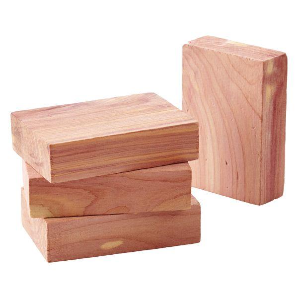 Scented wooden blocks