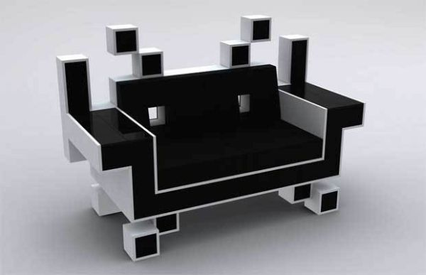 Space invader couch