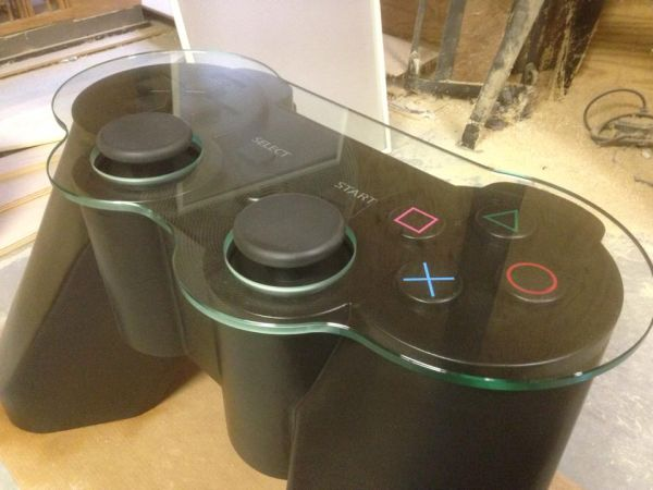 The Play station controller table