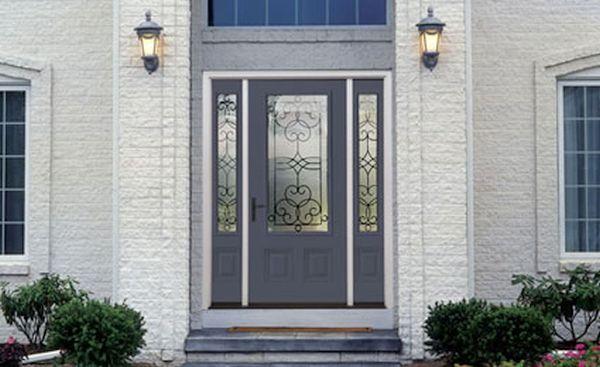 steel door in front of your house