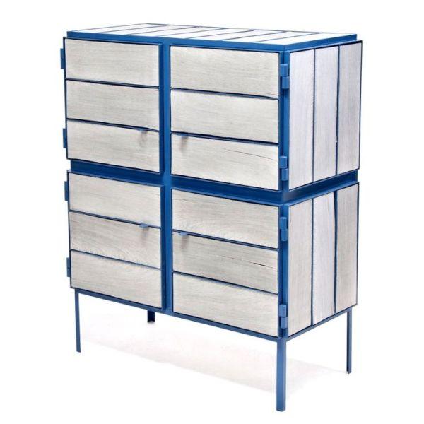 NewspaperWood cabinets (1)