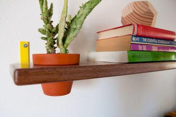 Pot shelf