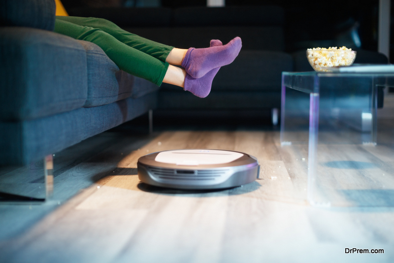 A note on why the floor cleaning robot is the best